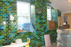 Tiled-feature-wall