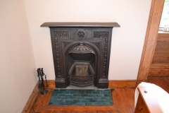 Matching original hearth tiles