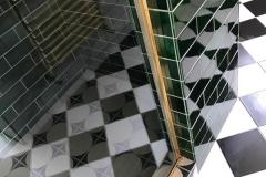 "9""x3"" emerald tiles"