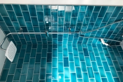 Shower-using-Amazonite-field-tiles