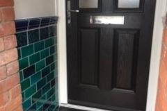 "Debenham blend porch tiles 6""x3"""