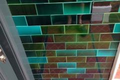 "Porch Tiles - Debenham green blend 6""x3"""